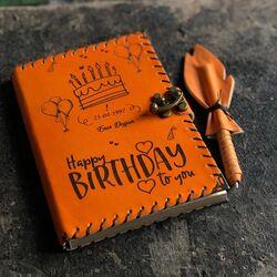 Doğum Günü Hediyesi Kişiye Özel Defter - Thumbnail